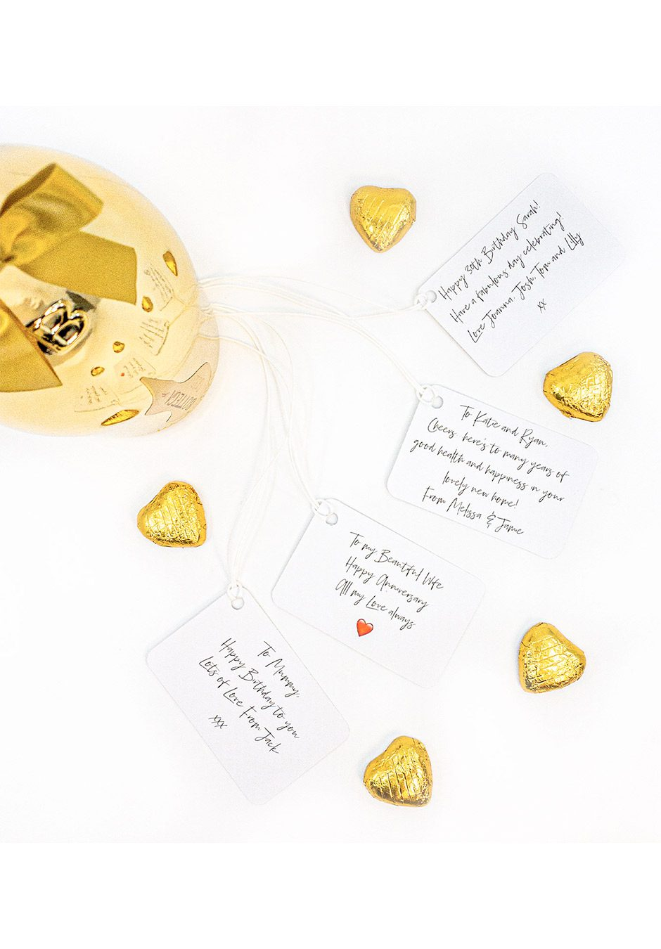 Gold Gift Message | KeiCo Drinks
