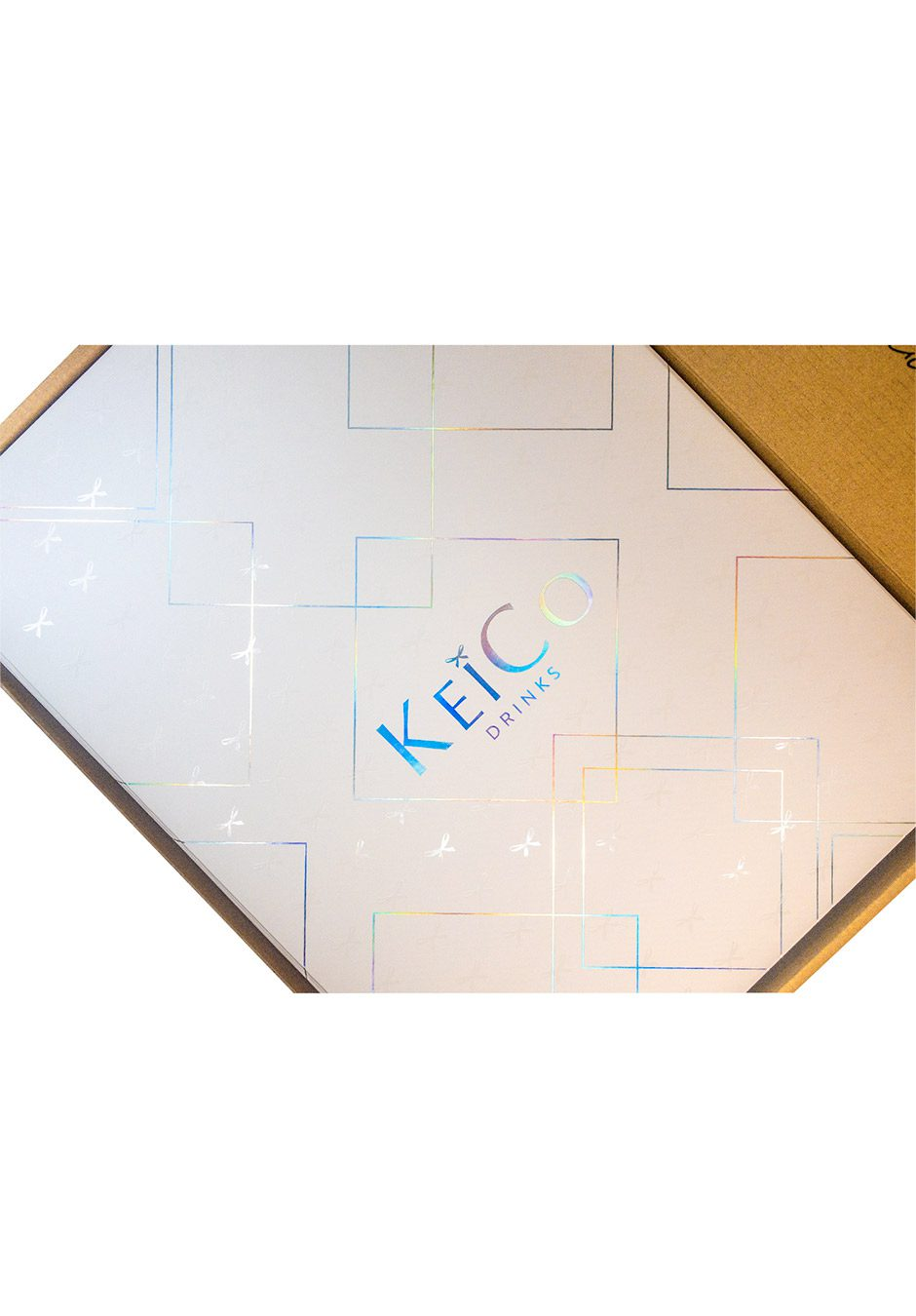 KeiCo Drinks | Outer Gift Box