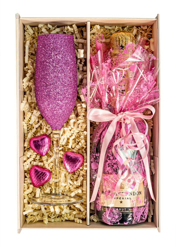 Moet and Chandon | Brut Imperial | 37.5cl | Pink | Sparkleware Gift Set | Keico Drinks