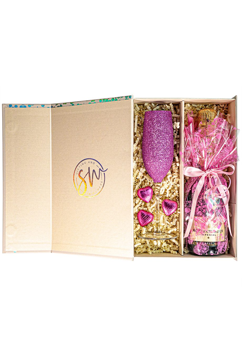 Moet and Chandon   Brut Imperial   37.5cl   Pink   Sparkleware Gift Set   Keico Drinks