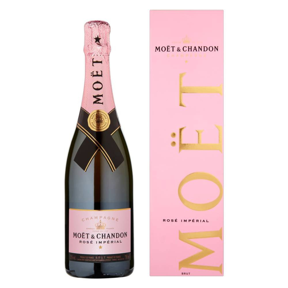 Moet & Chandon Rose Champagne 75cl   Keico Drinks