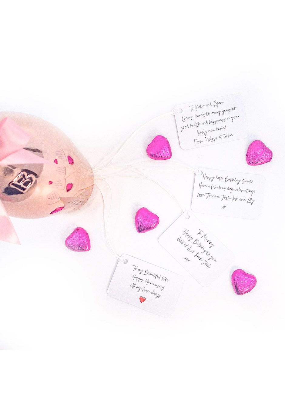 Pink Gift Message | KeiCo Drinks