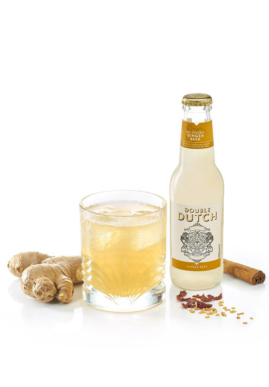 Double Dutch Ginger Beer   200ml   Keico Drinks
