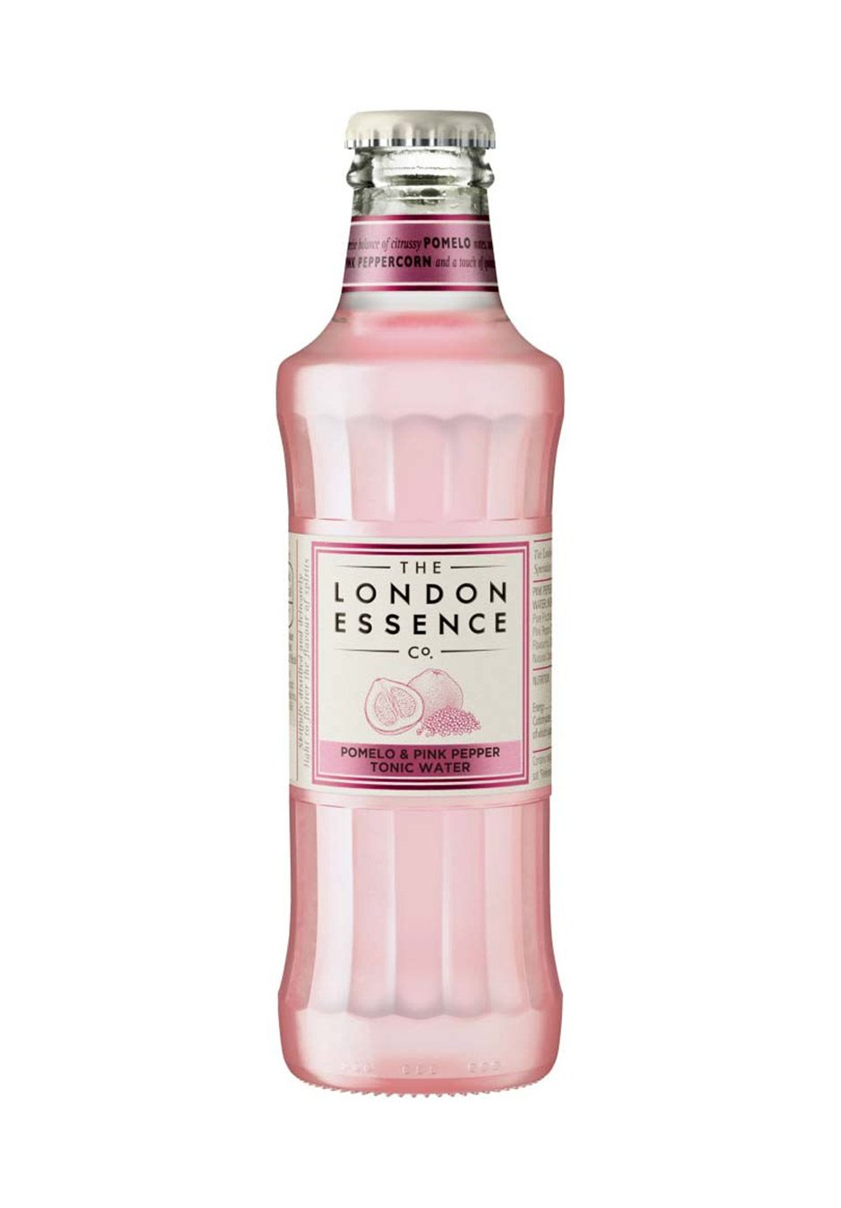 The London Essence   Pomelo & Pink Pepper   20cl Tonic Water   KeiCo Drinks