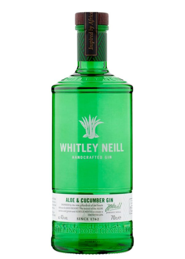 Whitley Neill | Aloe & Cucumber | Hand Crafted Gin