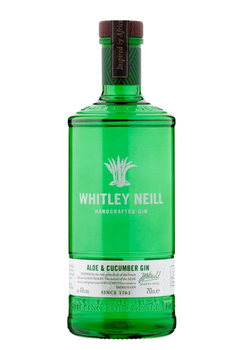 Whitley Neill   Aloe & Cucumber   Hand Crafted Gin