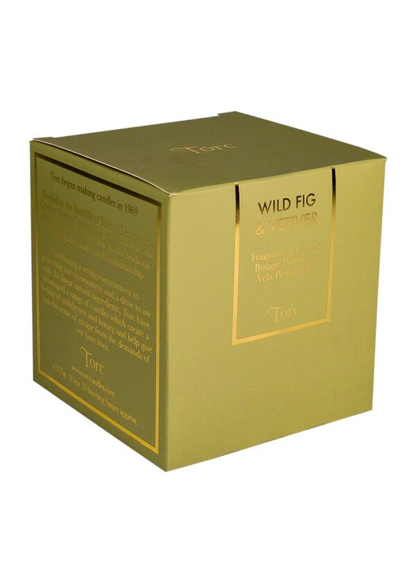 Torc Wild Fig & Vetiver Candle