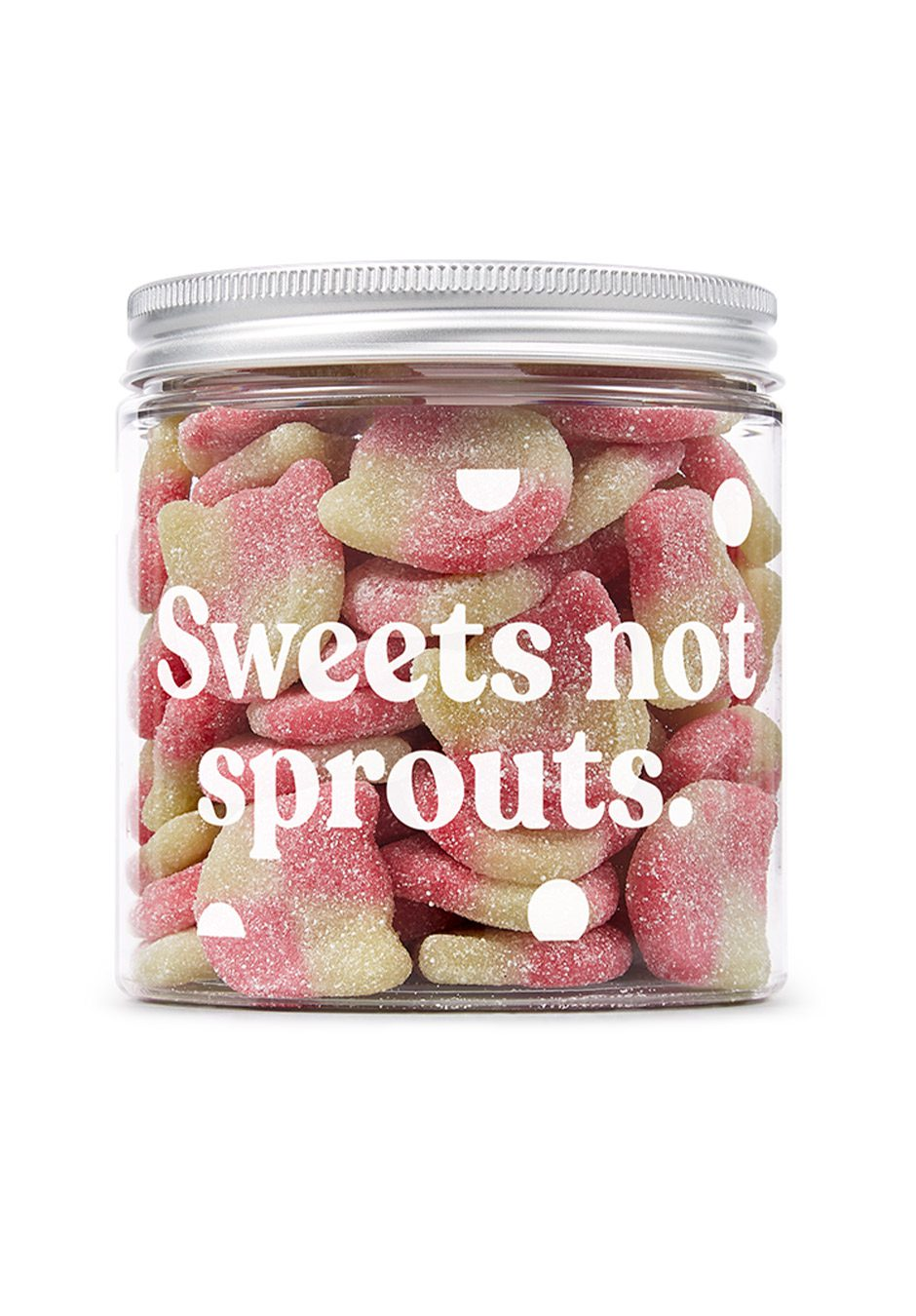 Candy Kittens   Sour Watermelon 350g Sweets Jar   KeiCo Drinks