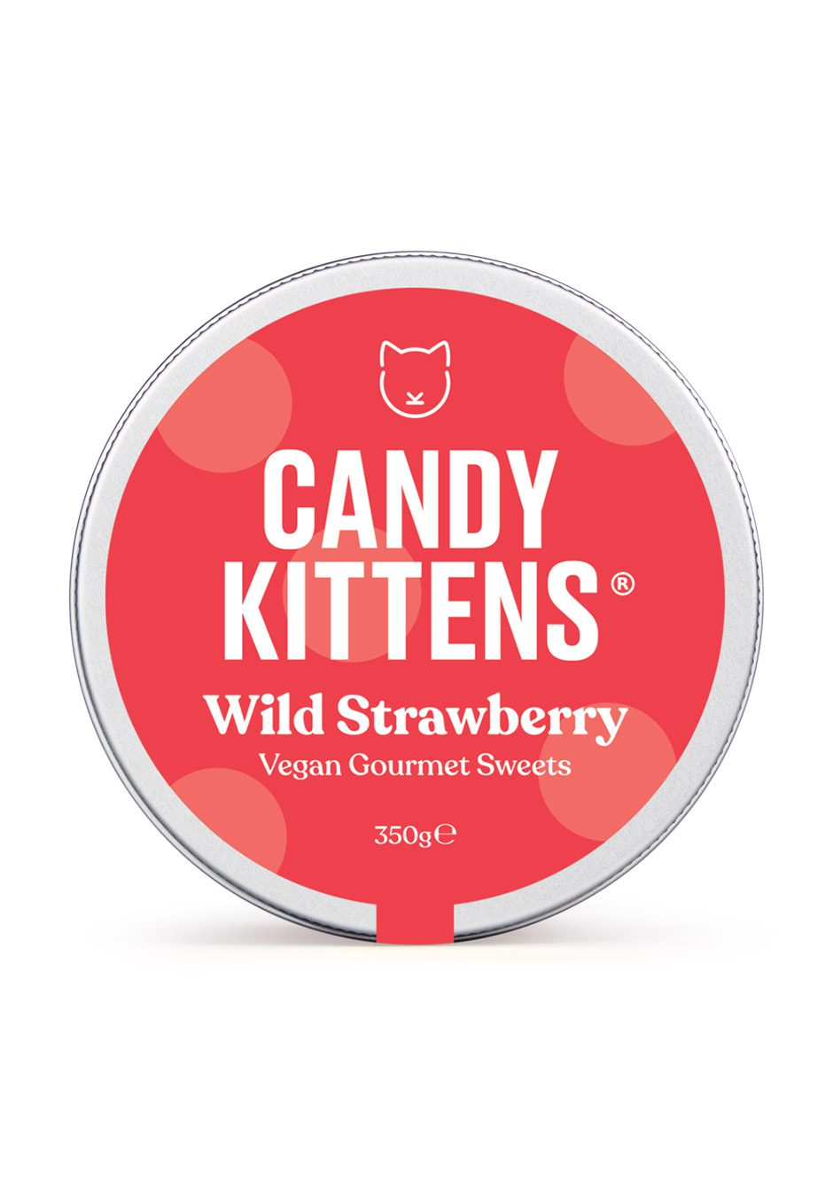 Candy Kittens | Wild Strawberry 350g Sweets Jar | KeiCo Drinks