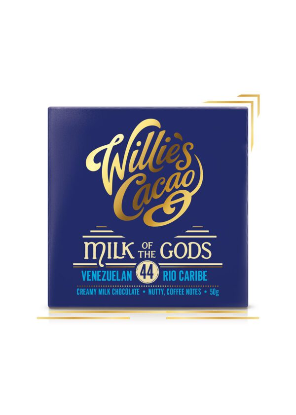 Willie's Cacao | Milk of The Gods Chocolate 50g