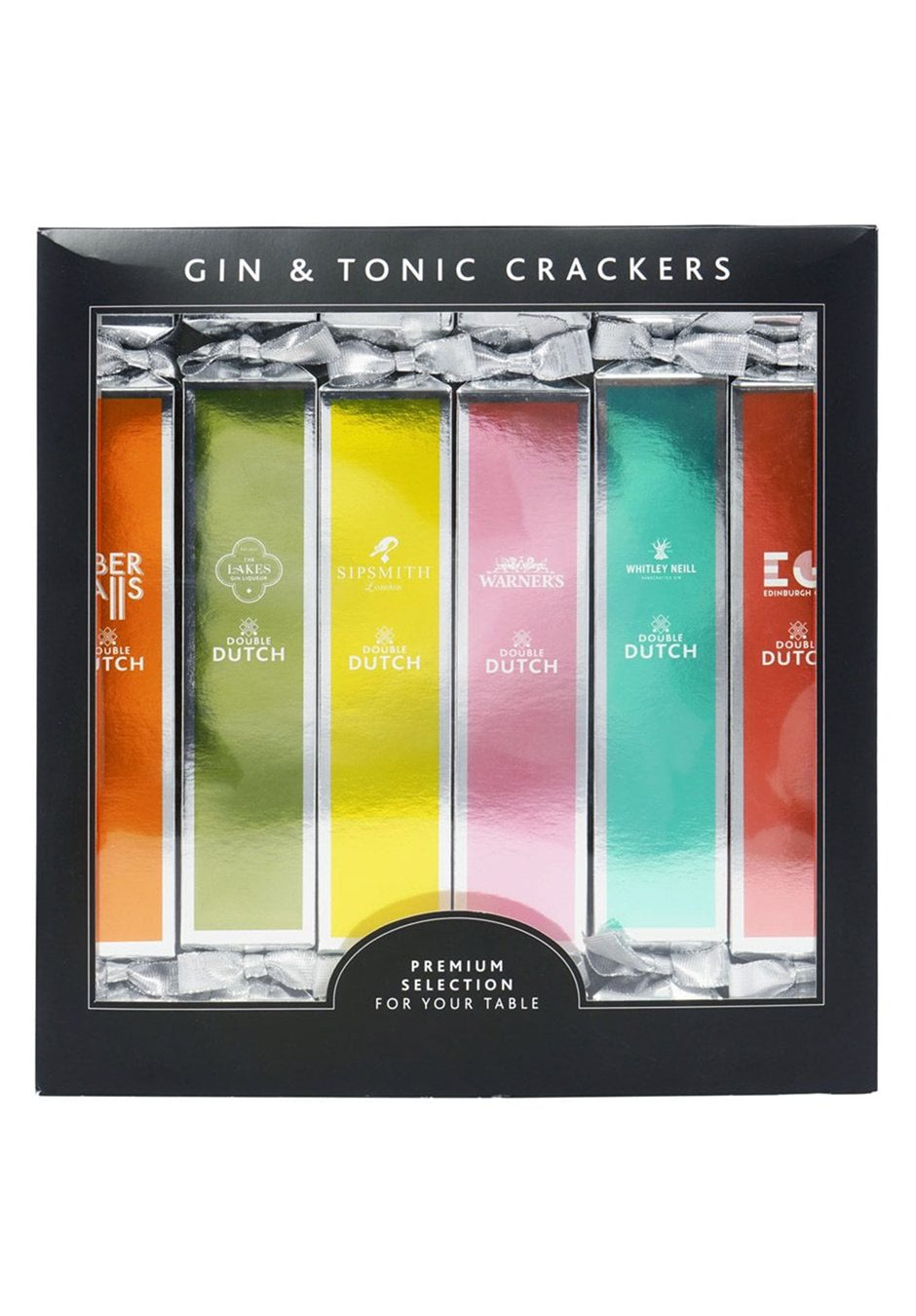 Luxury Gin and Tonic Christmas Crackers | Pack of 6 | KeiCo Drinks