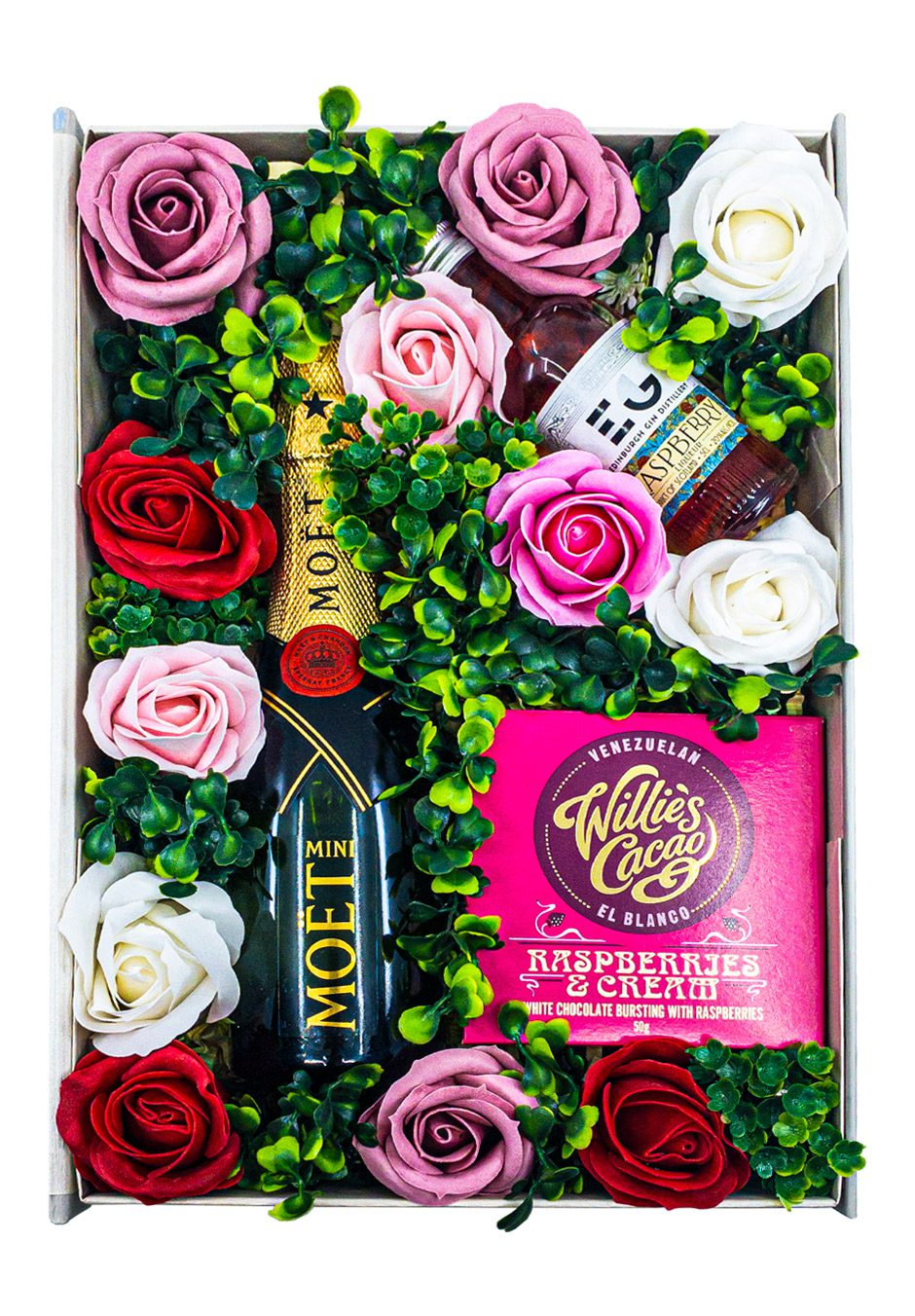 The Sweet Roses Floral Gift Set   Keico Drinks