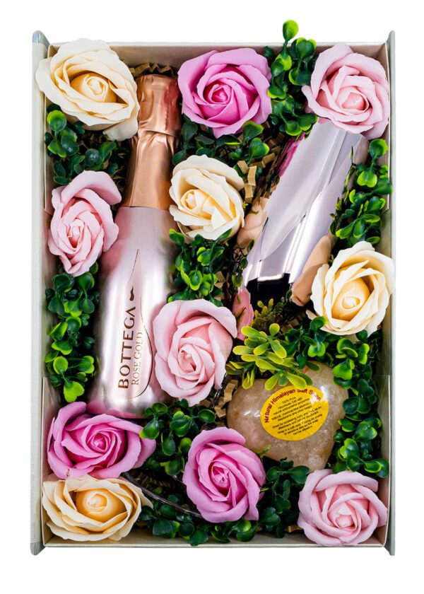 The Rose & Roses Floral Gift Set | Keico Drinks